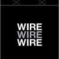 WIRE tote bag - black