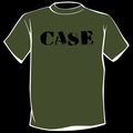 CASE - Logo T-Shirt (Black on Green)