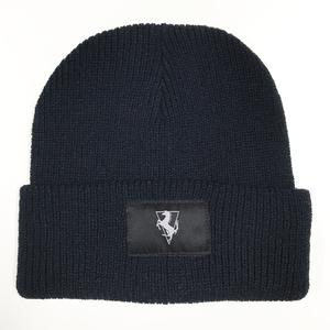 Navy Blue Beanie Hat