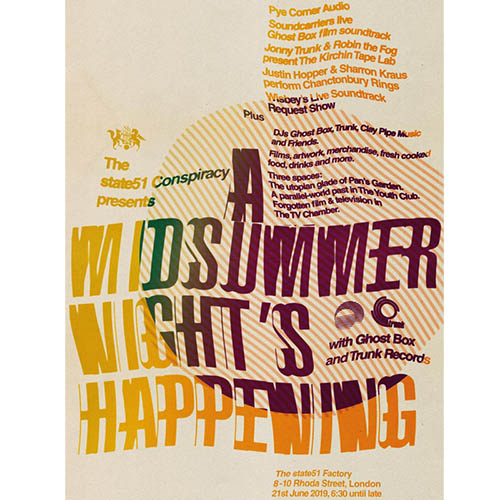 Midsummer Happening Poster & Invitation