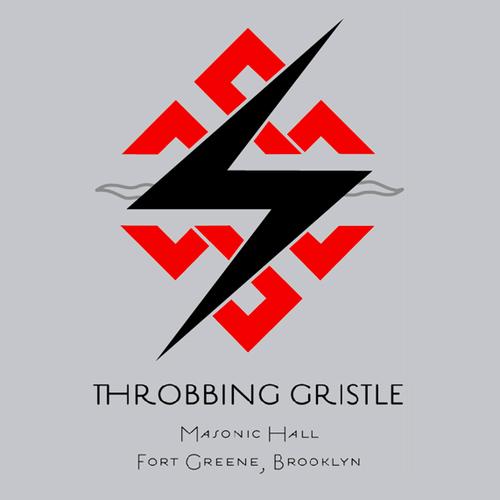 Throbbing Gristle - TG USA 2009 Tour T-Shirt -BROOKLYN GREY