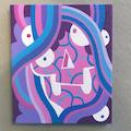 Sweet Skull 3 painting