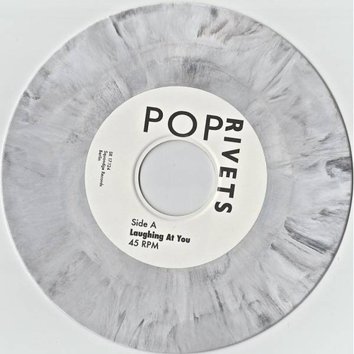 The Pop Rivets - POP RIVETS - Laughing at You - BLACK & WHITE VINYL